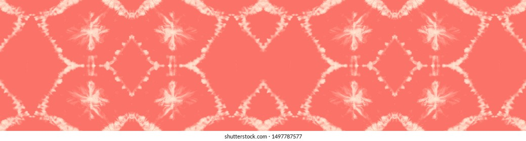Traditional African Pattern. Ethnic Repeat Print. Fashion Zigzag Illustration. Mayan Geo Ornament. Modern Fabric Design. Coral, Red Traditional African Pattern.