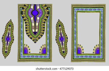 Traditional Dashiki African Design