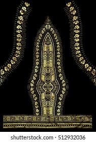 Traditional Dashiki African Pattern