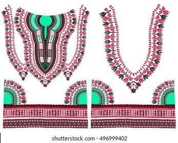 Traditional Dashiki African Pattern Textile