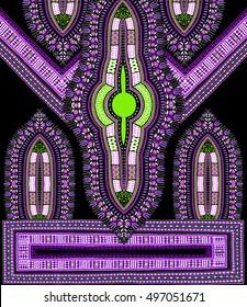 Traditional Dashiki African Pattern Textile