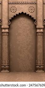 Traditional Indian Column Arc