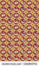 traditional patola pattern block pattern digital print design