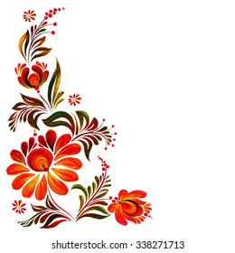 Corner Design Flower Images Stock Photos Vectors Shutterstock