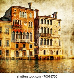 traditional venice - artwork in painting style