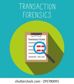 Transaction forensics illustration