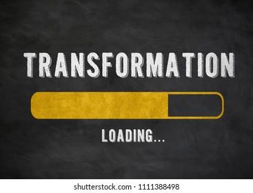 Transformation progress bar