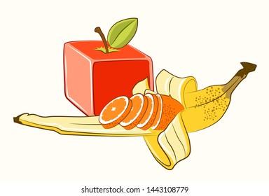 Transgenic manipulated fruits with biotechnology