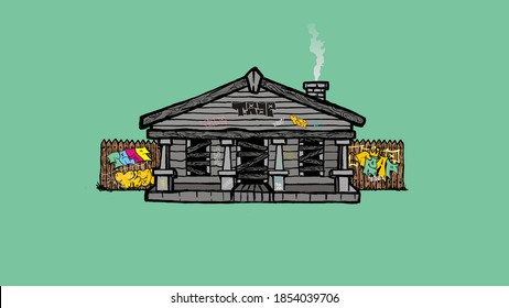 Trap House High Res Stock Images Shutterstock