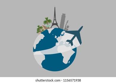 The traveling globe