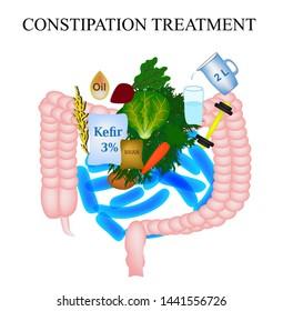 Constipation Treatment Images, Stock Photos & Vectors