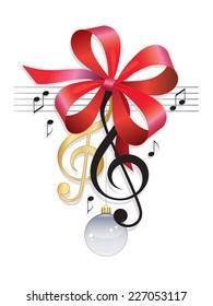 Treble Clef Festive Music