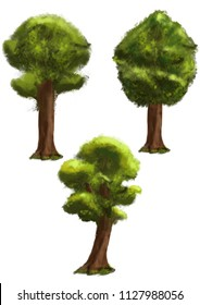 trees design set