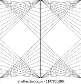 Triangles geometric patterns