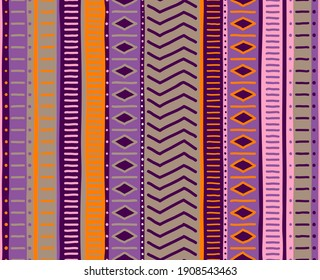 Tribal seamless textures. Beautiful stripe pattern. Stylish ornament. Pattern, seamless pattern, wallpaper. Elegant and classic texture. A luxurious ornament. Layout for fabric and textiles, wallpaper