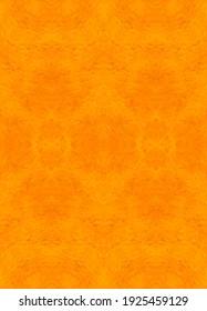 Tribal Seamless Yellow Geometric Pattern. Striped Hand Painted Orange Ethnic Seamless Pattern. Orange Watercolor Flowers Texture. Yellow Watercolor Ethnic Background. Orange Tie Dye Boho. Yellow