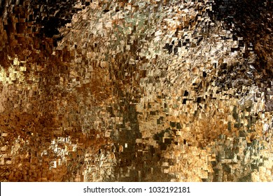 trip to nowhere, tribute to Pollock, abstract expressionism, art, digital, abstract illustration with mosaic effects of gradient colors brown, white, black,
