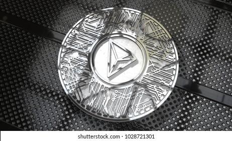 Tron Coin Images, Stock Photos & Vectors   Shutterstock
