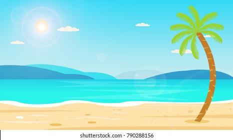 Image result for beach cartoon