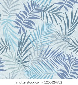 Tropical Leaves Camouflage Style Seamless Pattern Elegant Design Brilliant for Interior Design