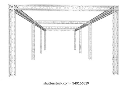 Truss system of Event Exibition