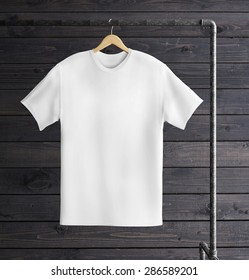 T-shirt with hanger