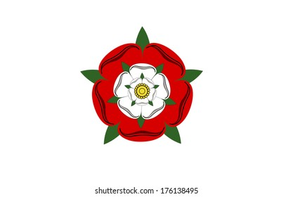 tudor dynasty rose england country flag computer generated