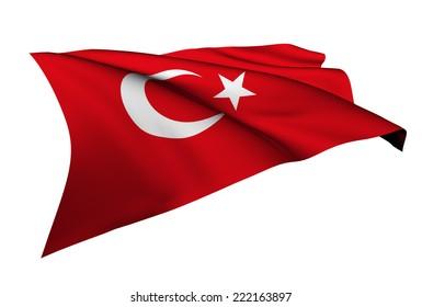 Turkey flag - collection no_5