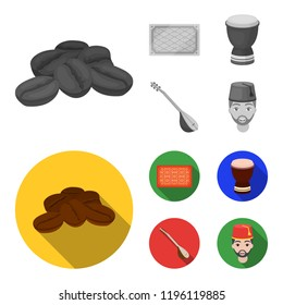 Turkish carpet, saz, drum, turkish men.Turkey set collection icons in monochrome,flat style bitmap symbol stock illustration web.
