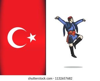 Turkish culture for Zeybek dance icon
