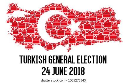 Turkish general election 2018 illustration