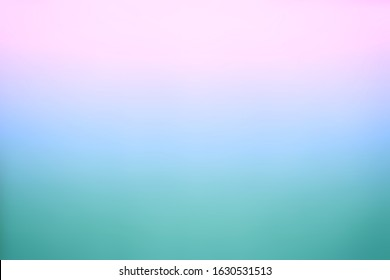Turquoise, lilac and rosy dawn colors. Abstract gradient background.