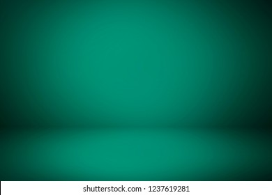 Turquoise room 3D. Background