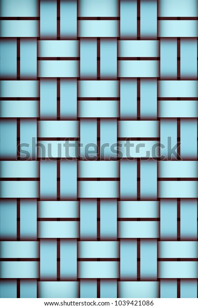 Turquoise woven texture background. Woven pattern. Template for web sites, sticker labels, wallpaper, banners, leaflets, cover design, fabric