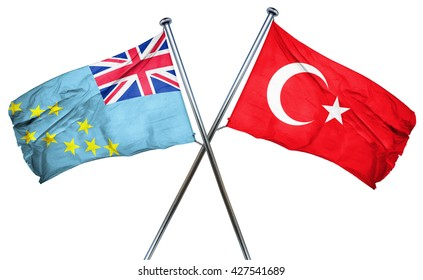 Tuvalu flag  combined with turkey flag