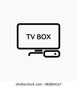 TV box / IPTV icon illustration.