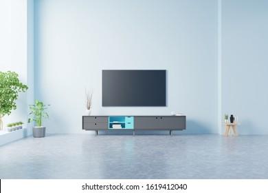 Blue Tv Room Images Stock Photos Vectors Shutterstock