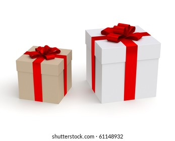 two gift box