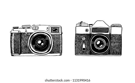 Camera Vintage Vector Png : Vintage photo camera icon retro concept stock vector royalty free