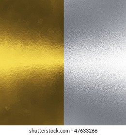 Two metal background