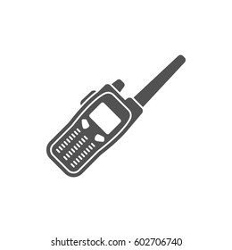 Two way radio, walkie talkie icon