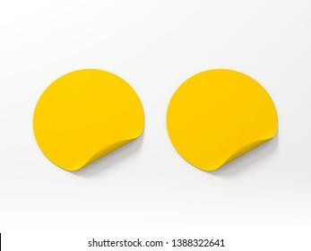 Yellow Sticker Images Stock Photos Vectors Shutterstock