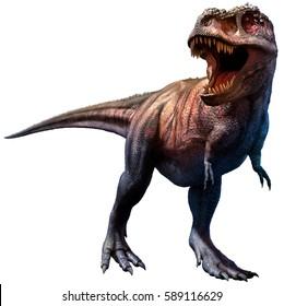 Tyrannosaurus 3D illustration
