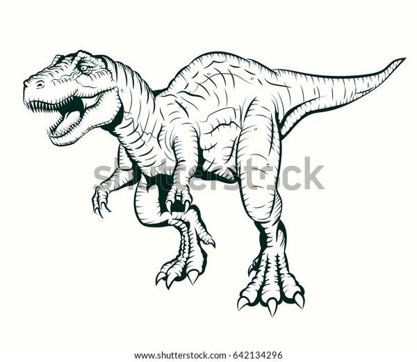 Ilustracoes Stock Imagens E Vetores De Tyrannosaurus Rex
