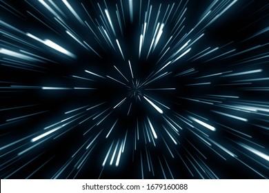 ump at superluminal speed between the stars