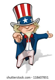 "Uncle Sam ""I Want You"" Presenting"
