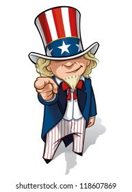 """Uncle Sam """"I Want You"""""""