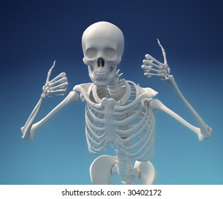 Undead Skeleton is very optimistic about the future.