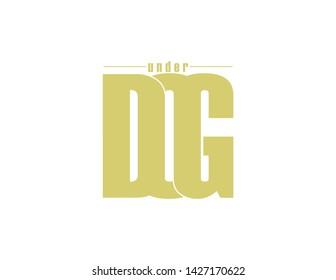 underdog original monogram logo design