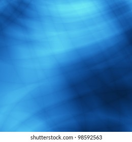 Underwater blue abstract creative art background